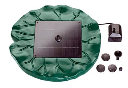 Estanque con juego acuático solar PondoSolar 250 Plus de Pontec