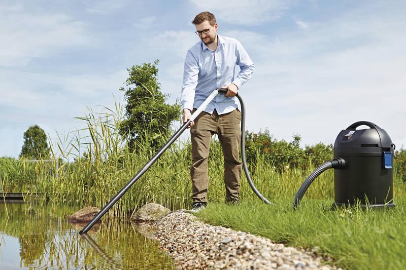 aspirador en húmedo y en seco para estanque y hogar
