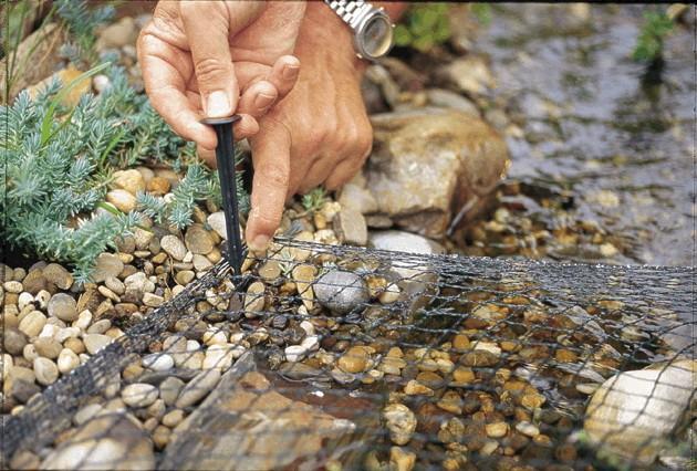 Redes para estanques, peces y algas2