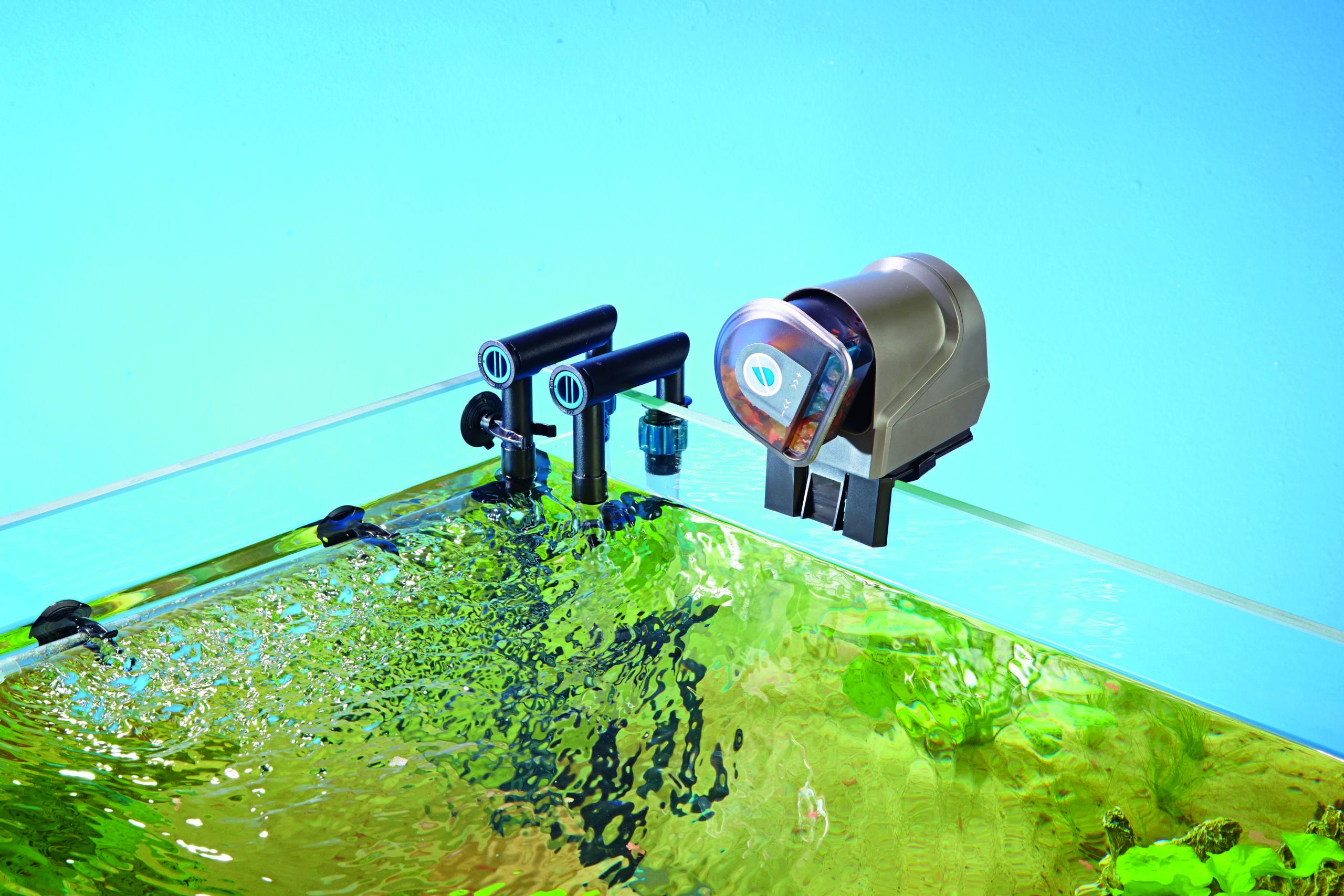 FishGuard Alimentador Automático: Alimentación las 24 horas